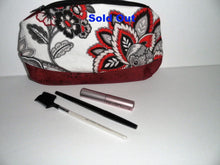 Cork and fabric cosmetic bag