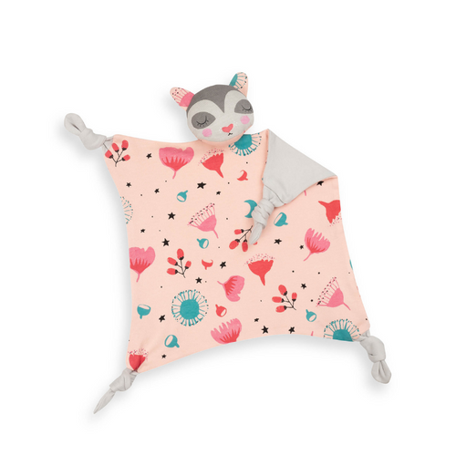 Floss Possum Cuddle Blankie