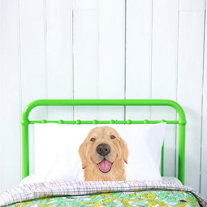 Sid the Golden Retriever Pillow Case