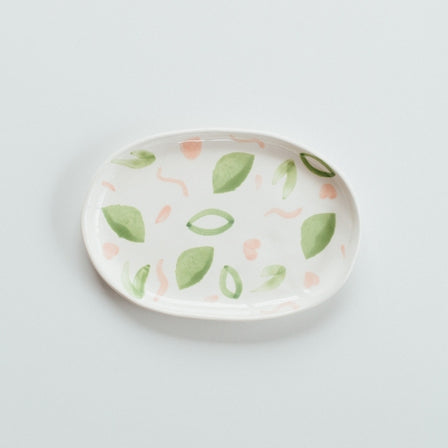 Jungly Oval Plate
