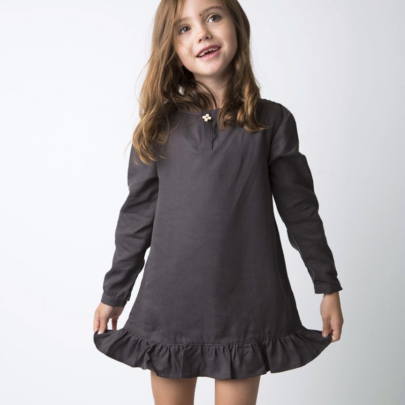 Minimnt Shirt Dress Granite