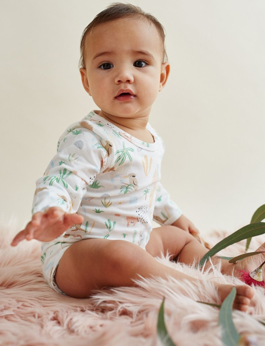 Outback Dreamers Long Sleeve Bodysuit