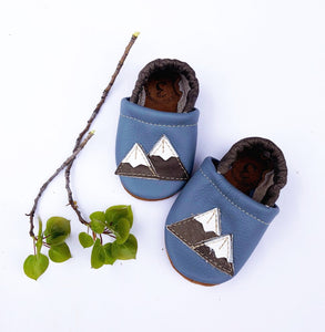 Mountains Baby Shoes (3 months)