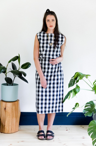 Cherie Checker Skirt