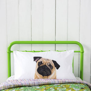 Pedro the Pug Pillow Case