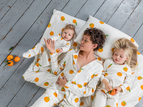 Sleepy Doe Clementine PJ Set (7 Years)