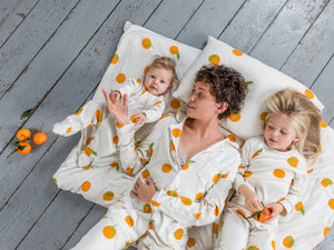 Sleepy Doe Clementine PJ Set