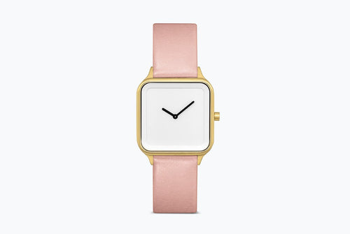 Moments Watch Pink/Gold - Bare Bones