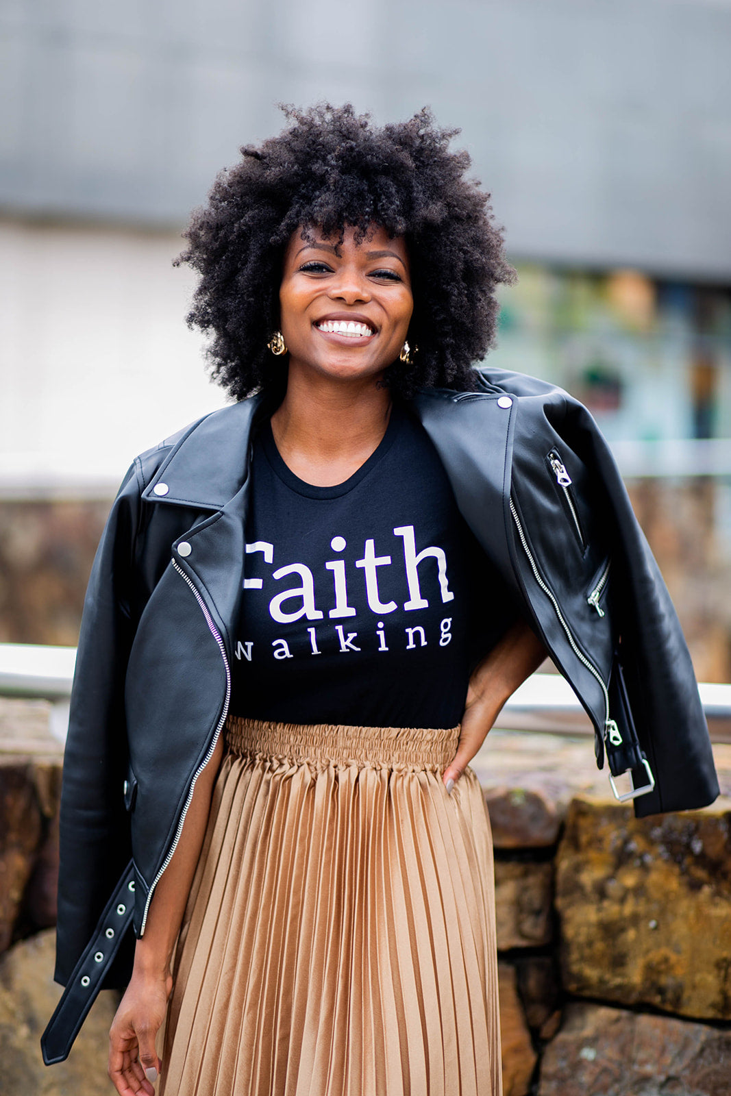 'FAITH Walking' Tee (Women)
