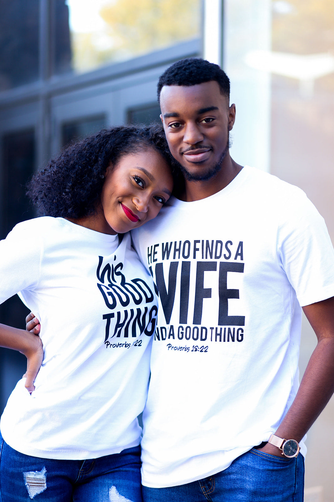 'He Who Finds a Wife' Tee