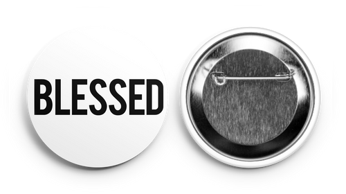 'BLESSED' Button