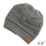 CC Beanie ~ The Original Cable Knit Beanie ~ (HAT-20A) - Blush & Company Designs