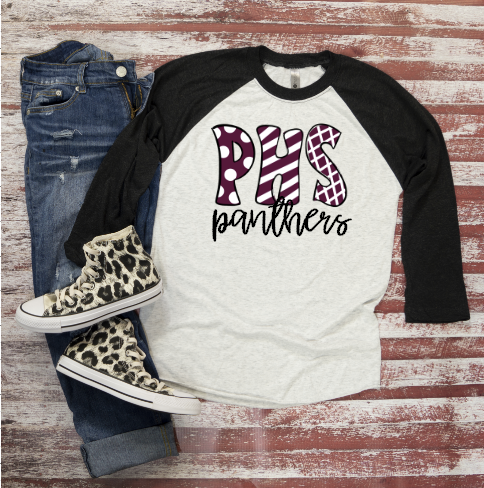 Gameday Raglan ~ Any team name - Blush & Company Designs