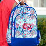 Monogrammed Garden Party Backpack ~ Monogrammed girls backpack ~ Back to school backpack - Blush & Company Designs