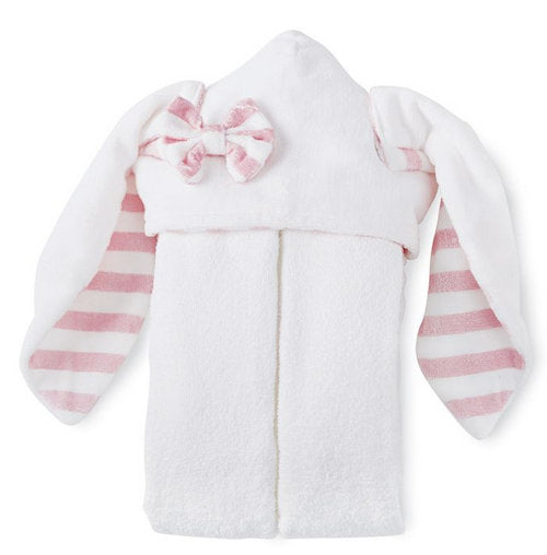 Hooded Bunny towel ~ Little girls hooded towel ~ Monogrammed hooded bunny towel - Blush and Company Designs
