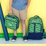 Monogrammed Later Gator Backpack lunchbox and pencil case~