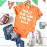 Praise the Lord and Go Vols shirt ~ Tennessee Vols tshirts ~ UT tshirt - Blush & Company Designs