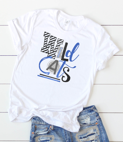 College basketball team shirts ~ Kentucky Wildcats ~ LSU Tigers ~ Any team - Blush & Company Designs
