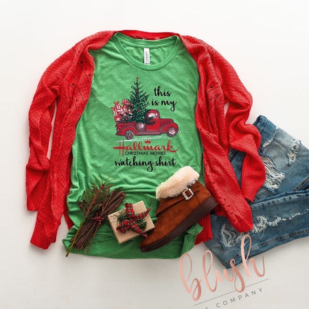 Believe Christmas Shirt with Leopard Accents ~ Women's Christmas Shirts