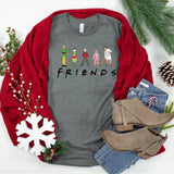 Friends Christmas edition - friends Christmas shirt - Blush & Company Designs