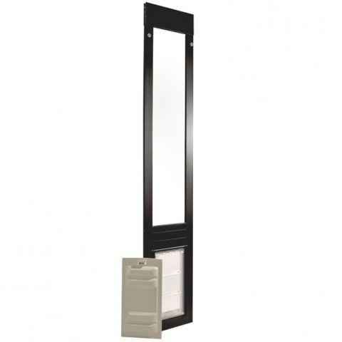 Endura Flap Quick Panel 3 Small Sliding Glass Pet Door 01PPC06S