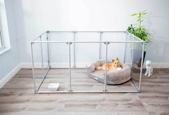 Image of Clearly Loved Pets Large Lucidium Dog Pen