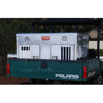 Owens Hunter Series Double Compartment UTV Box with Top Storage, Owens Product - DogkennelsUSA.com