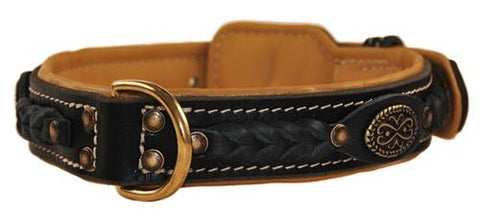 Dean and Tyler Dean's Legend Brass Leather Collar DTC43-B