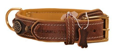Dean and Tyler Dean's Legend Chrome Plated Steel Leather Collar DTC43-CPS