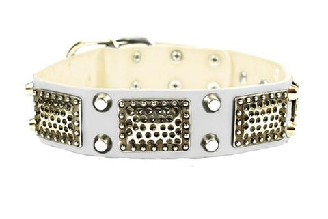 Dean and Tyler Thor Nickel Spiked Collar DTC85+N