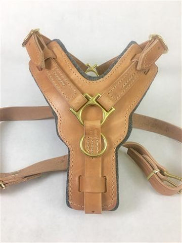 Dean and Tyler The Victory With Pull and Handle Leather Harness DTH10