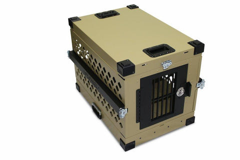 Grain Valley GVFoldCrate-M Medium Impact Collapsible Dog Crate
