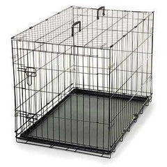 Grain Valley Folding Wire Crate, Grain Valley Dog Supply - DogkennelsUSA.com