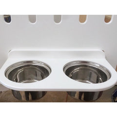 KBC Kennels Food and Water Bowl Attachment, KBC KENNELS - DogkennelsUSA.com