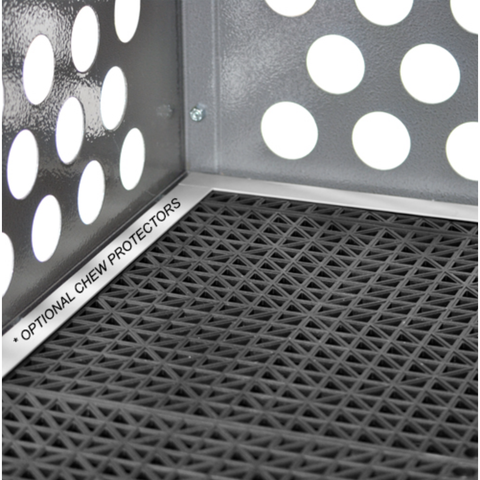 Zinger Chew Protector Trim Kit - Dog Crate Flooring All Models Door, Zinger - DogkennelsUSA.com
