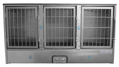 Groomer's Best 3 Unit Cage Bank GB3UNIT