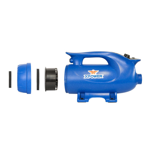 XPOWER B-8S Elite Pro 4 HP Brushless Force Pet Dryer