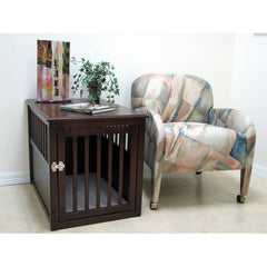 Image of Crown Pet Products Wood Crate Table