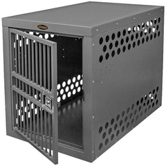 Zinger Winger Aluminum Deluxe Dog Crates Front Entry