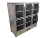 Image of Groomer's Best 6 Unit Cage Bank GB6UNIT