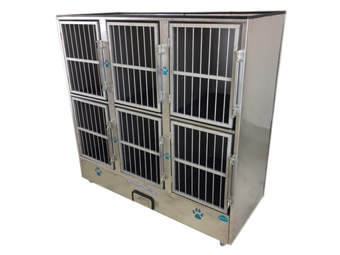 Groomer's Best 6 Unit Cage Bank GB6UNIT