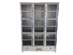 Groomer's Best 9 Unit Cage Bank GB9UNIT