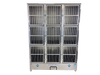 Image of Groomer's Best 9 Unit Cage Bank GB9UNIT
