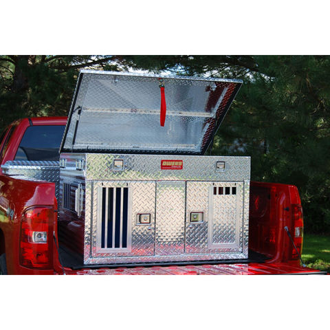 Owens Hunting Dog Boxes Standard Vents with Top Storage -Shallow, Owens Product - DogkennelsUSA.com