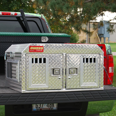 Owens Hunter Dog Box ATV/SUV Without Storage, Owens Product - DogkennelsUSA.com