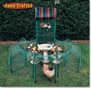 Kittywalk Grand Prix Outdoor Cat Enclosure KWGP550