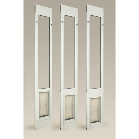 Endura Flap Quick Panel 3 Large Sliding Glass Pet Door 01PPC10S