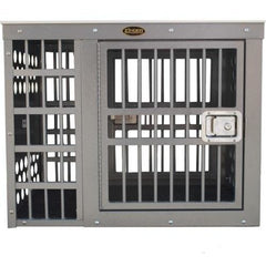 Zinger Deluxe Double Door Side/Side Entry Offset Dog Crate, Zinger - DogkennelsUSA.com
