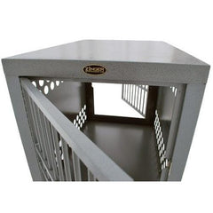 Zinger Heavy Duty Double Door Dog Crate - Front/Back Entry, Zinger - DogkennelsUSA.com