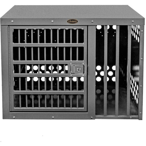 Zinger Heavy Duty Series Dog Crate - Side Entry (Offset), Zinger - DogkennelsUSA.com